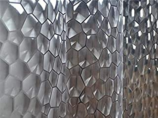 SKEIDO 180 X 180 CM PEVA Bathroom Shower Curtains 3D Waterproof Bath Curtain Solid Pattern