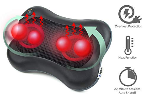 Zyllion Shiatsu Massage Pillow Review