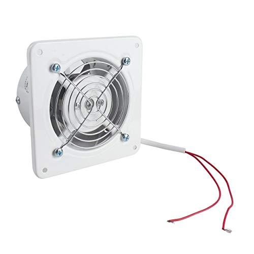 Lodenlli Extractor de ventilación Industrial Extractor axial de Metal Ventilador de Aire Comercial Ventilador de bajo Ruido Funcionamiento Estable