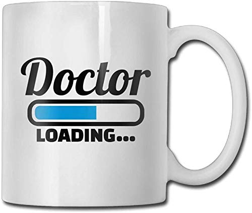 11 oz koffie mok, thee mok, dokter kostuum koffie mok mannen klassieke keramische geschenken thee beker, het perfecte cadeau voor familie en vrienden, leuke witte koffie Cup