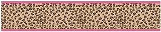 Sweet Jojo Designs Cheetah Girl Pink and Brown Baby, Kids and Teens Wall Paper Border