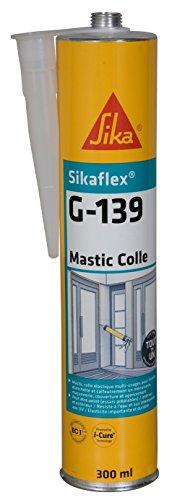 Sikaflex G 139, Mastic-colle à prise rapide, 300ml, Noir