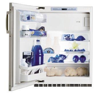 SIBIR Komfort eco Swiss Unterbau 125l A++ Weiß - Kühlbox Kombi (Bajo encimera, weiß, links, Glas, 125 L, 109 L)