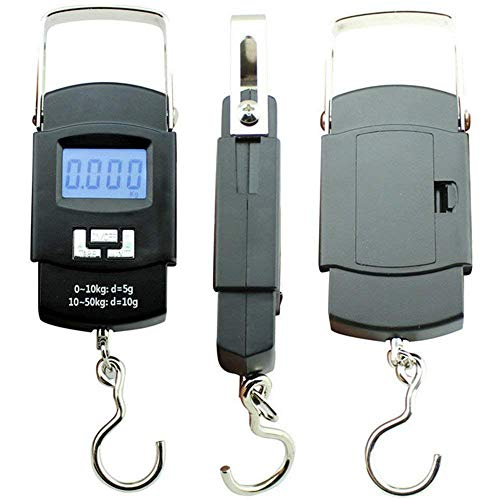 SAYSHA 50 kg Hook Type Digital Weighing Scale Portable...