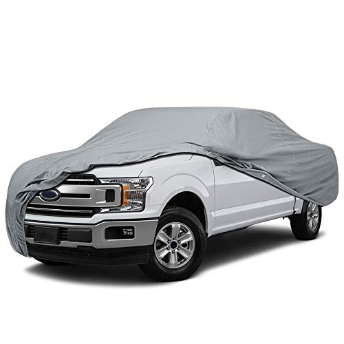 5 Layer Semi Custom Fit Compact Truck Car Cover for Nissan Datsun 620 2-Door Pickup 1974-1979 Standard Cab Short Bed, UV Protection Waterproof Dust Resistant Scratch Protection