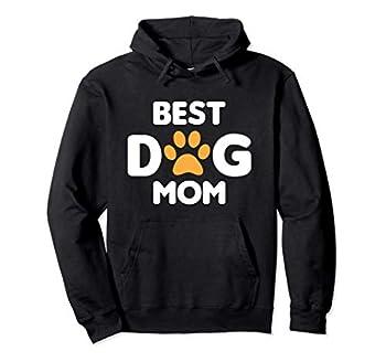 Meilleure Maman De Chien Drôle De Patte Best Dog Mom Sweat à Capuche
