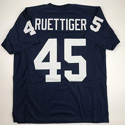 Unsigned Rudy Ruettiger Notre Dame Blue Custom Stitched College Football Jersey Size Men's XL New No Brands/Logos