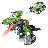 VTech- Barro, el T-Rex 4x4. Dinosaurio electrónico interactivo transformable en coche con...