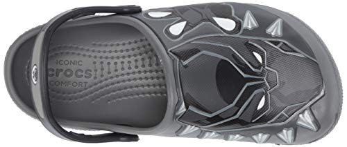 Crocs Kids Baby Boy's Crocsfunlab Black Panther Clog (Toddler/Little Kid)