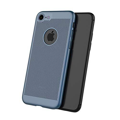 Rembcom iPhone 6 Hülle, iPhone 6s Hülle, Wärmeableitung Dünn Matt Leicht Ultra Slim Hart Anti-Fingerabdruck Schutzhülle Case Schale Cover Handyhülle für iPhone 6s/6 (Blau)