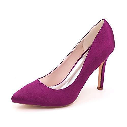 LGYKUMEG Mujer Zapatos de Tacón Zapatos Mujer Tacon Fiesta Sexy Clásico Stilettos High Heels Fiesta Boda para Mujer Tacones Altos 9.5cm,07,EU40