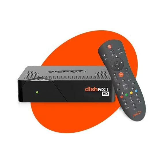 Dish TV HD Box with 1 Month Super Family HD Pack Hindi
