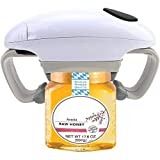 Electric Jar Opener for Seniors with Arthritis - Automatic Can Openers Electric for New Sealed Jars - Hands Free Bottle...