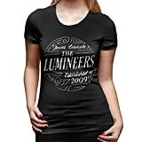 The Lumineers Shirt Womans Cool T Shirt Clothes Short Sleeve O NeckTops S Black