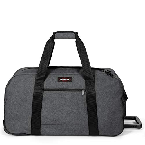 Eastpak Container 85 + Reisetasche, 83 cm, 132 L, Grau (Black Denim)