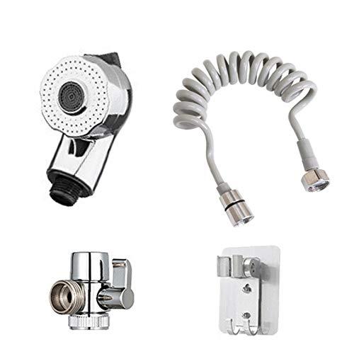ZYCX123 Baño de galvanoplastia Conjunto de Ducha Cabezal de Ducha de Alta presión orientable Ducha regadera de la Cabeza Accesorios de baño Productos para el Hogar