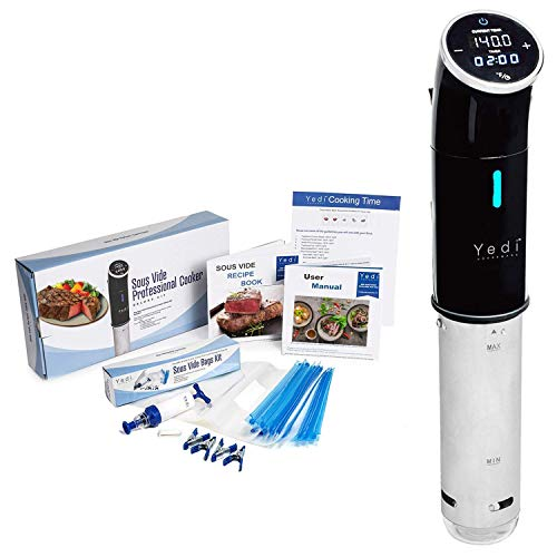 Yedi Total Package Sous Vide Cooker + Recipe Book