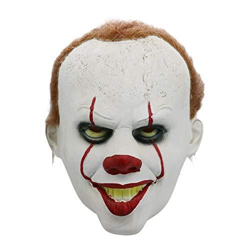 Máscara De Payaso Terror Máscara De Látex Para Halloween Semana Santa Carnaval Mascarada Fiesta