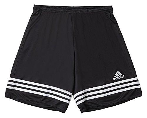 Adidas Entrada 14, Pantaloncini Bambino, Multicolore (Nero/Bianco), 116