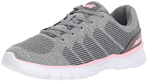 Avia Women's Avi-Rift Running Shoe, Frost Grey/Iron Grey/Roswater, 9.5 M US