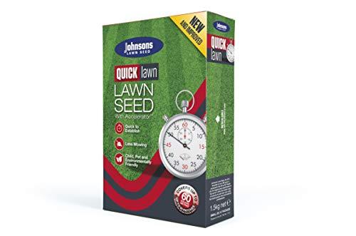 Decco Ltd Johnsons 557017 Quick Fix Graines pour Gazon 1,5 kg