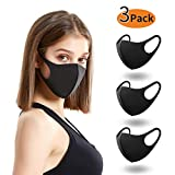 Anqier Face Mask Unisex Mouth Mask Dust Mask Anti Pollution Mask Breathable Ear Loop Dust Mask for Cycling Camping Travel