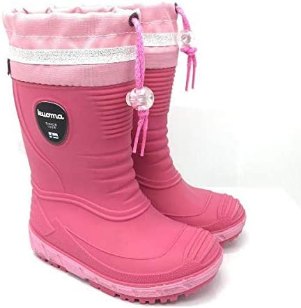 Kuoma VIHMA Girls Fur Lined Rain Boots (Made in Italy)