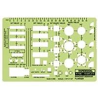 3パック TEMPLATE BANQUET/SEMINAR PLANR 製図、エンジニアリング、アート(一般カタログ)