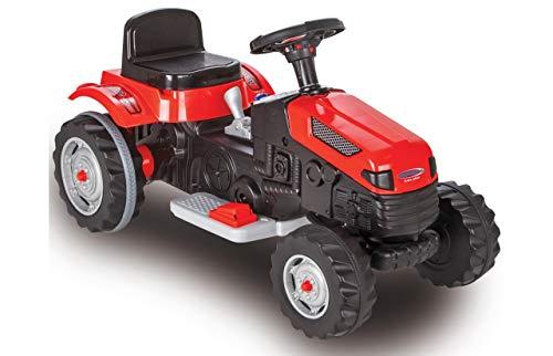 ROSA ROCA Tractor Strong Bull de Jamara 6V. Color Rojo. Juguete eléctrico...