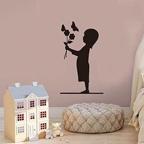 Pegatinas de pared creativas para niños, sala de estar, dormitorio, decoración de ventanas familiares, pegatinas de pared 42x42 cm