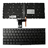 Keyboards4Laptops Tedesco Retroilluminato Grigio Windows 8 Tastiera Sostitutiva per Portatili Compatibile con Lenovo IdeaPad 320S-13IKB