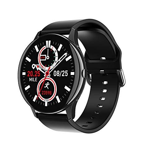 AYZE Relojes Inteligentes Hombre GPS Pantalla táCtil De 1,28', Batería De 220 mAh, Modo De Ejercicio/Supervisión del Sueño, Envío De Mensajes, Control De Fotos/MúSica, Smart Watches for Men 1