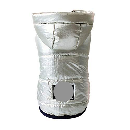 PONNMQ Chien de Hiver Veste Chiot Chien vêtements Tenues pour Animaux de Compagnie Chien Manteau Jeans Costume Costume Chihuahua Caniche Bichon vêtements pour Animaux de Compagnie, Bouton, XL