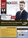 OPERARIO/A SERVICIO GENERALES AYUNTAMIENTO DE MADRID Pack ahorro básico