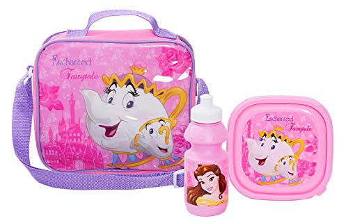 Disney Beauty En Het Beest School Lunch Tas Set