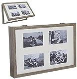 TIENDA EURASIA® Tapa Contador Electrico Decorativas de Ventana Muebles Pegatinas Decoración del hogar (MULTIFOTO MADERA)