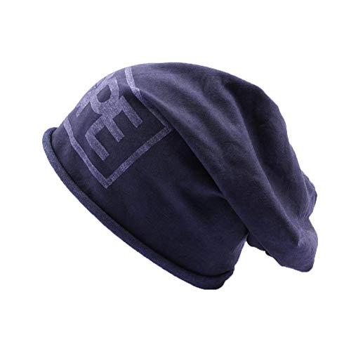 JBB COUTURE Bonnet Oversize Bleu Dope - Mixte