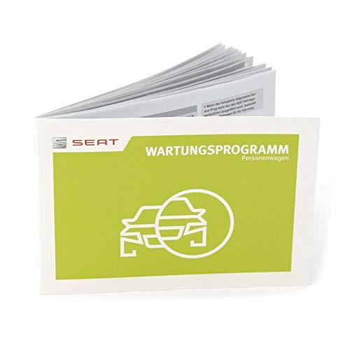 Seat 5F0012705SB Wartungsbuch Inspektion Serviceheft Scheckheft Wartungsprogramm