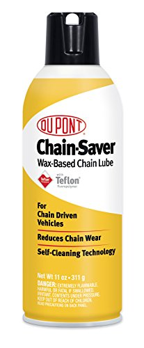 DuPont Teflon Chain-Saver Dry Self-Cleaning Lubricant, 11-Ounce