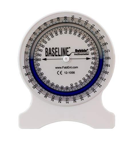 Baseline Inklinometer, Neigungswinkelmesser, Diagnoseinstrument zur Messung des Bewegungsumfanges, 12-1056