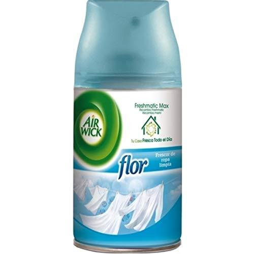 6er Pack - AIRWICK Nachfüller - Flor - für Freshmatic Max - 250 ml