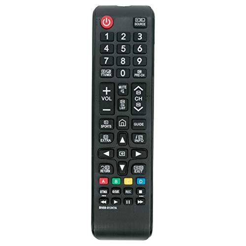 VINABTY BN59-01247A Mando a Distancia de Repuesto para Samsung Smart LCD LED UHD HDR TV UA78KS9500W UA88KS9800 UE55KU6500U UE40KU6000 UE49KU6500U