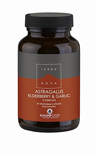 Terra Nova Astragalus, Elderberry and Garlic Complex (50 Caps)