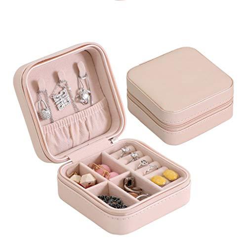 gszfsm001 - Joyero portátil para mujer, organizador de joyas, portátil, para guardar joyas de viaje