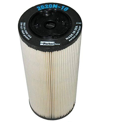 2020N-10 Parker Racor Fuel Filter Element (Pack of 2)