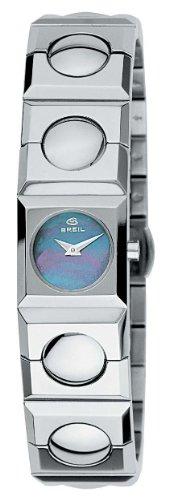 Breil 2519280885 - Reloj analógico de Cuarzo para Mujer, Correa de Acero Inoxidable Color Gris