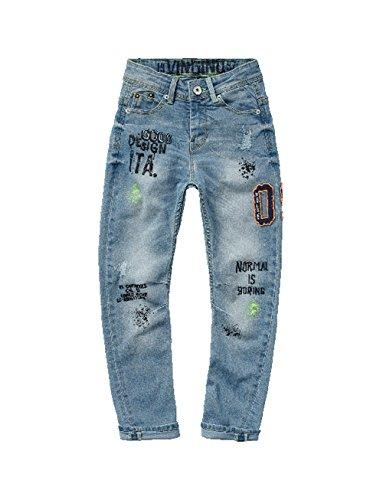 Vingino Jeans Banana Carlio used look Light Beach maat 15 170 (U15998)
