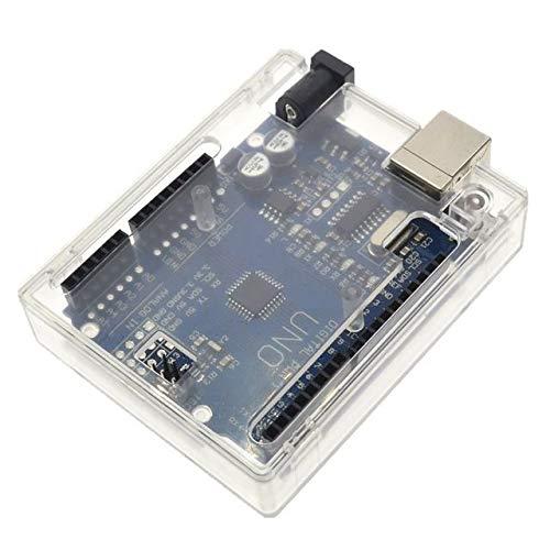 Mechatronics-Pro Gehäuse für Arduino UNO Case durchsichtig transparent