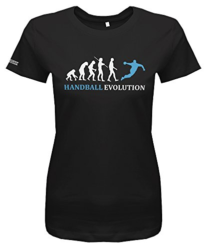 Jayess Handball Evolution - Schwarz - Women T-Shirt by Gr. M