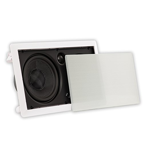 "Theater Solutions TSSLCR6 Deluxe 6.5"" in Wall 250W Compact Center Channel Speaker Home"